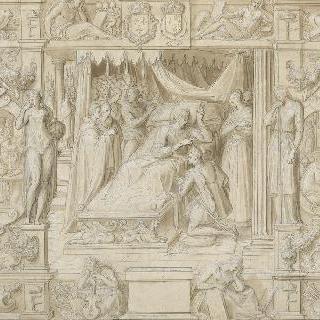프랑수아 1세의 죽음과 그의 아들 앙리 2세의 은총