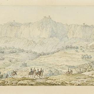 1796년 6월 생 마랭 영토로 입성하는 프랑스 사절단