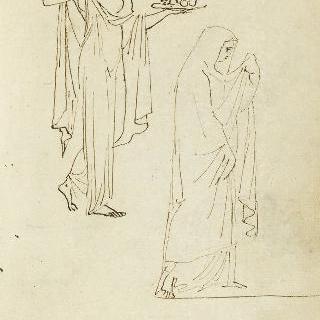 앨범 : 고대풍의 옷을 입은 두 여인