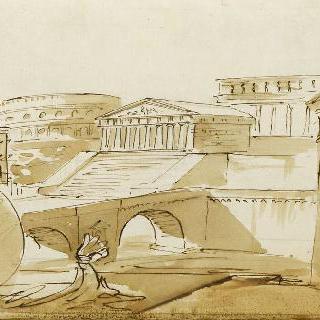 앨범 : 고대 건축물의 전경