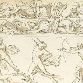앨범 : 고대풍의 인물들이 있는 프리즈 작품
