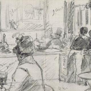 프랑스 극장 광장의 카페