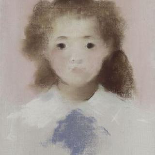 마드무아젤 에슈트의 정면 초상