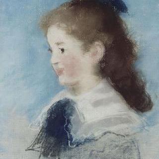 마드무아젤 에슈트의 측면 초상
