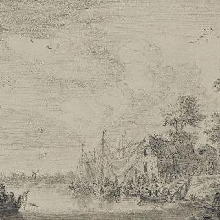 강가의 마을
