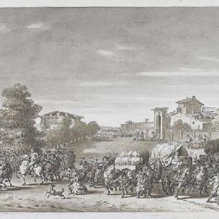 마렝고 전투 : 마지막 지시를 내리는 보나파르트
