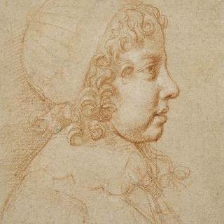 어린 루이 14세의 초상