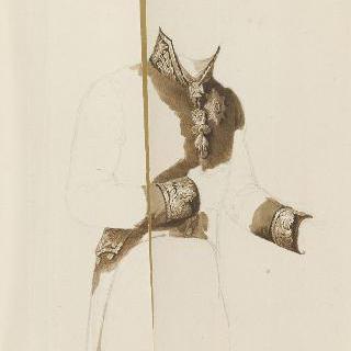 견본 앨범 : 메테르니크 왕자의 의복 습작