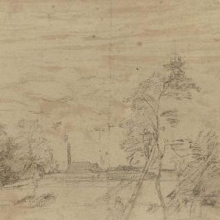 1860년 경의 석양