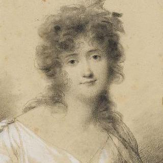 1801년 경의 소피 게이, 델핀 드 지라르댕의 어머니