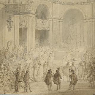노트르담 대성당에서의 나폴레옹의 대관식