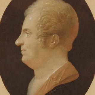 1810년 경의 루이 베르탱 파랑풍의 르두테 옆모습