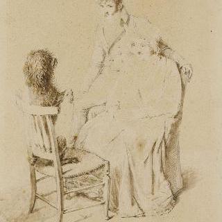 티에논 부인과 이사비 부인의 초상