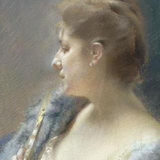브륄르리 드 라 브뤼니에르 부인의 초상