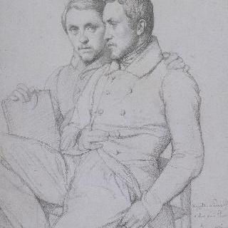 이폴리트와 폴 플랑드랭의 이중 초상