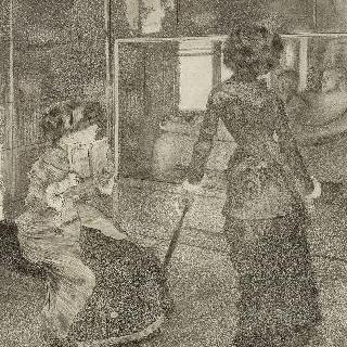 루브르의 마리 카사트, 고대 미술관
