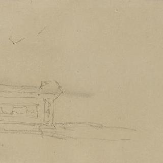나폴레옹의 루브르궁 장식을 위한 준비 스케치