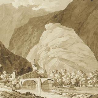 바르 요새의 전경