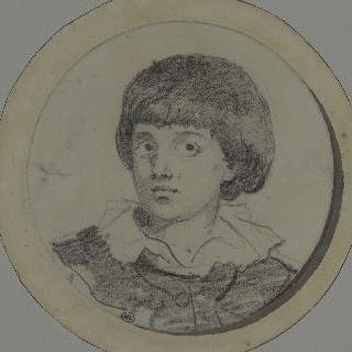 화가의 아들, 알렉상드르 에바리스 초상
