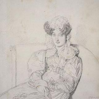마르코트 드 생트 마리 부인의 초상