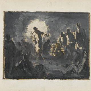 갈릴리 지방에서 선교하는 예수