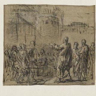 죽은 자를 부활시키는 예수