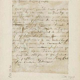 파로셀이 서명한 수사본 노트