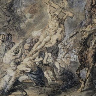 십자가에 올려진 그리스도