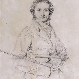 니콜로 파가니니의 초상, 바이올린 연주자