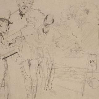 폴 세잔느를 찾아온 모리스 드니의 방문에 대한 기억, 또는 그림을 그리는 폴 세잔느