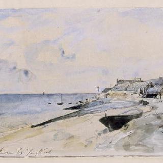 생트 아드레스의 바닷가