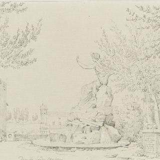 바르베리니 정원의 생 아폴론 샘