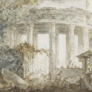 로마 생피에르 성당의 주랑