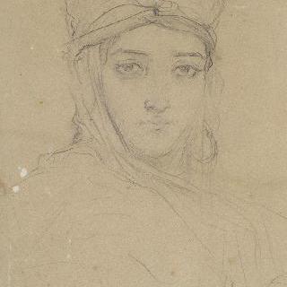 알제리 여자 두상