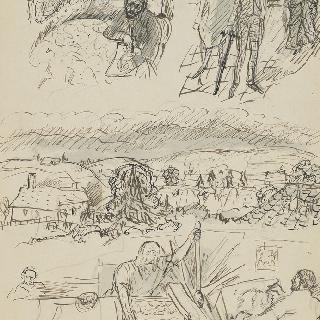 파리의 본나르, 도피네의 풍경, 인쇄업자. A 클로씨