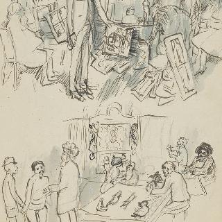 앙부로이즈 볼라르 화랑,  꼭두각시 연극