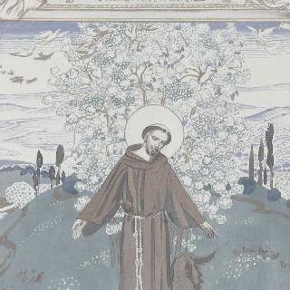 아시스의 성 프랑수아 생에 대한 일화 : 구비오의 늑대