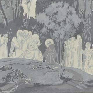 아시스의 성 프랑수아 생에 대한 일화 : 기도하는 성자