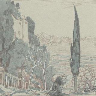 아시스의 성 프랑수아 생에 대한 일화 : 풍경 장면