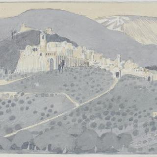 아시스의 성 프랑수아 생에 대한 일화 : 풍경