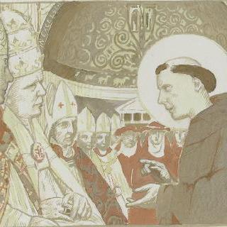 아시스의 성 프랑수아 생에 대한 일화 : 성자와 주교