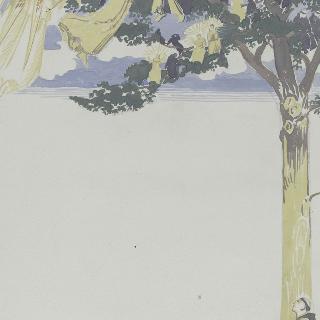 아시스의 성 프랑수아 생에 대한 일화 : 나무에 보이는 장면