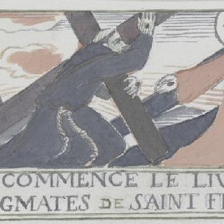 아시스의 성 프랑수아 생에 대한 일화 : 십자가를 진 그리스도와 성자