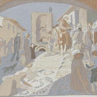 아시스의 성 프랑수아 생에 대한 일화 : 도시 속 장면