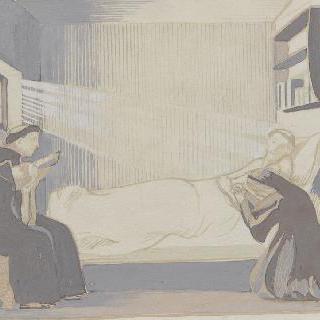 아시스의 성 프랑수아 생에 대한 일화 : 내부 장면