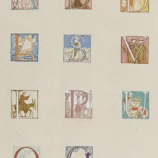 아시스의 성 프랑수아 생에 대한 일화 : 대형장식 대문자