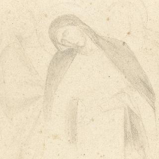 두 명의 성자의 부축을 받는 성모