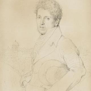 1811년 샤를 마르코테 다르장퇴일의 초상