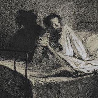 판각사 샤를르 메리옹의 초상