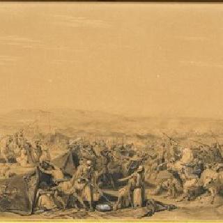 1843년 5월 16일 아브 델 카데르의 이동 천막 탈환